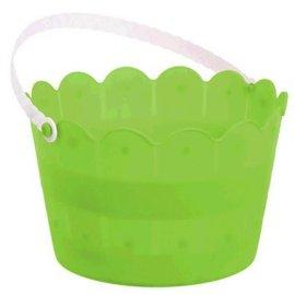 Scalloped Bucket - Kiwi