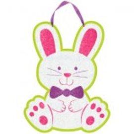 Glitter Bunny Sign
