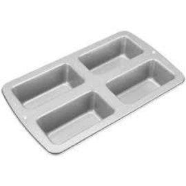 Mini Loaf Pan 4 Cavity