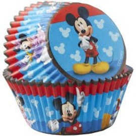 Mickey Baking Cups