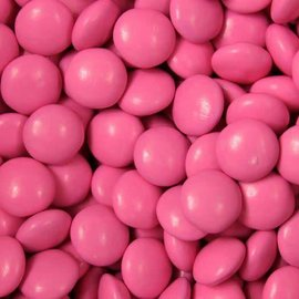 Chocolate Buttons 12oz.- Pink