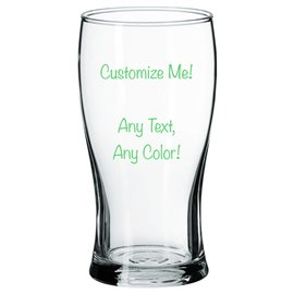 Beer Pilsner Glass - Customizable