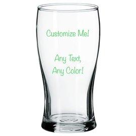 Beer Pilsner Glass - Customizable
