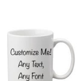 Coffee Mug White- Customizable