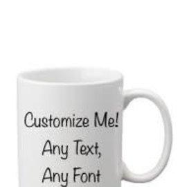 Coffee Mug White- Customizable