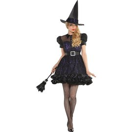 **Womens Black Magic Witch (#114)