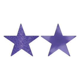 Star Cutouts - Purple