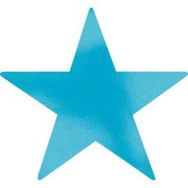 Foil Star Cutouts - Caribbean