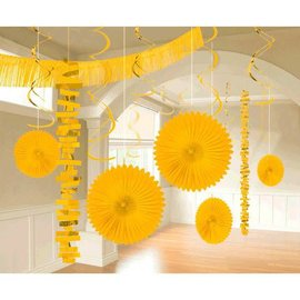 Paper & Foil Decorating Kits - Yellow Sunshine