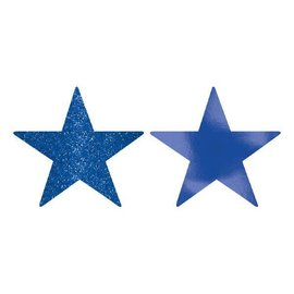 Star Cutouts - Bright Royal Blue