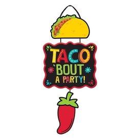 Taco Triple MDF Sign