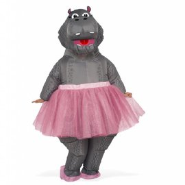 Hippo With TuTu- Inflatable