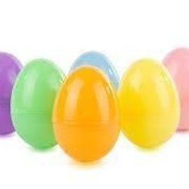 Jumbo Easter Treat Containers, Pastel Colors- 6ct