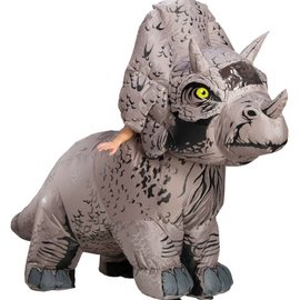 Adult Jurassic World: Fallen Kingdom Triceratops Inflatable Costume (#153)