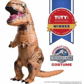 T-Rex Dinosaur Costume - Jurassic World Inflatable (#184)