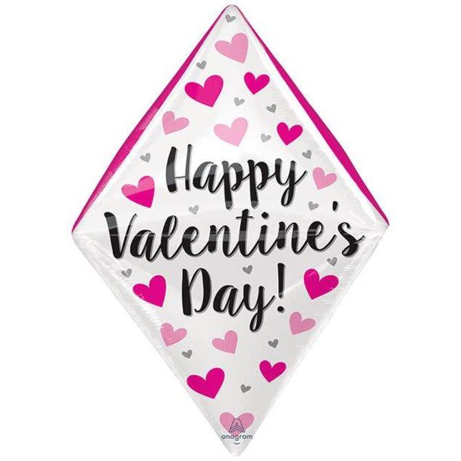 "25"" Happy Valentine's Day Gem Anglez"