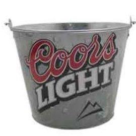 Coors Light Metal Beer Bucket