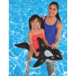 Whale Ride‑on Pool Toy, Inflatable
