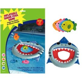 Inflatable Shark Toss Game