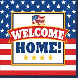 Welcome Home Luncheon Napkins