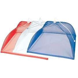 Red, White And Blue Food Cover, 3 Pack