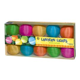 Round Lantern Light Set - Multicolor