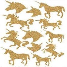 Unicorn Diamond Sticker Sheet 12ct