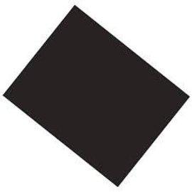 "Black Poster Board 22"" X 28"""