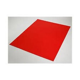 "Red Poster Board 22"" X 28"""