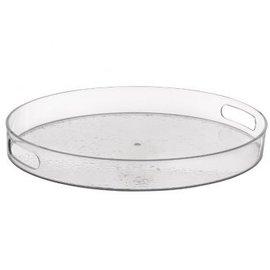 Hammered Round Tray