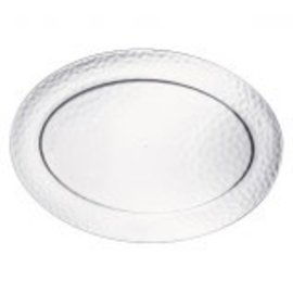 Hammered Oval Platter
