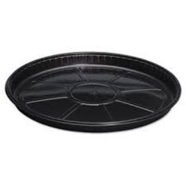 "16"" Plastic Tray Black"
