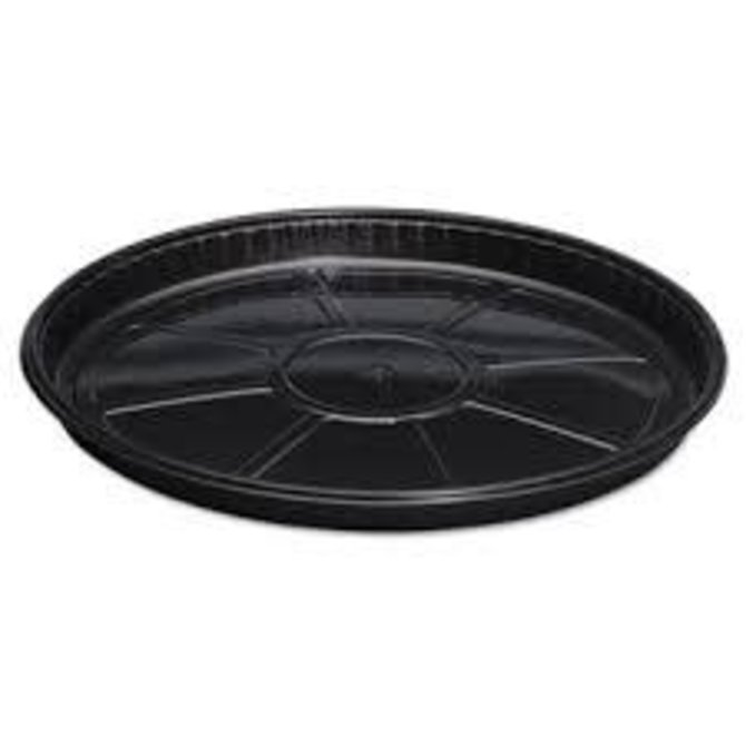 "16"" Plastic Tray Black"