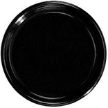 "12"" Soft Plastic Tray Black"