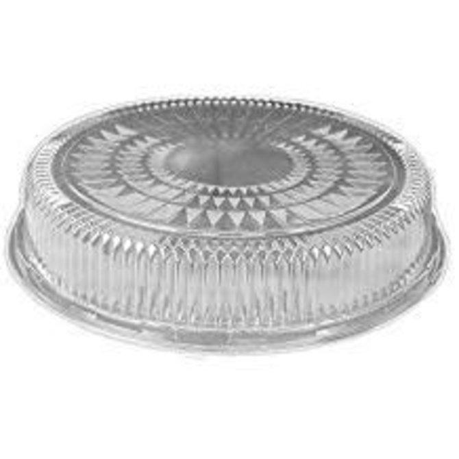 "12"" Plastic Dome Lid"