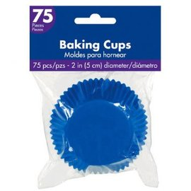 Royal Blue Cupcake Cases 75ct