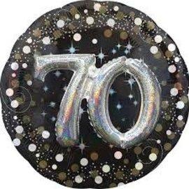 """Sparkling 3D 70 Balloon, 32"""""""