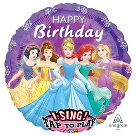 Disney Princess Sing-a-Tune Balloon, 28""