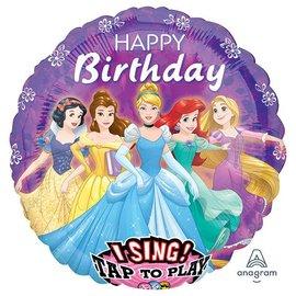 """Disney Princess Sing-a-Tune Balloon, 28"""""""