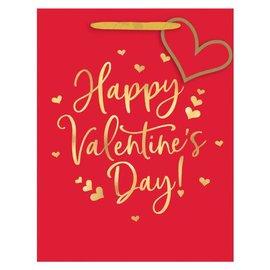 Happy Valentine's Day Medium Vertical Gift Bag