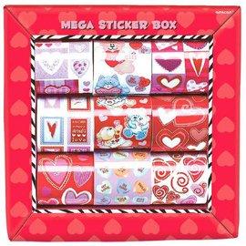 Valentine's Sticker Box (over 1000 Stickers)