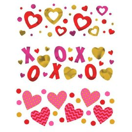 XOXO Value Confetti 1.2oz (foil & paper)