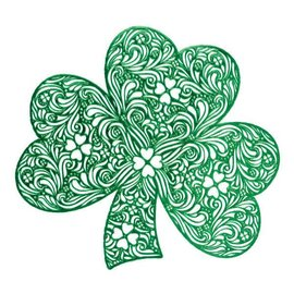 St. Patrick's Day Shamrock Placemat