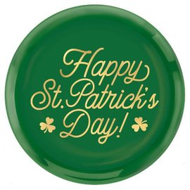 St. Patrick's Day Round  Platter 14""