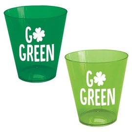 St. Patrick's Day Shot Glasses 2oz 40ct