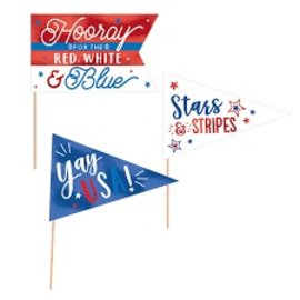 Patriotic Mini Pennants