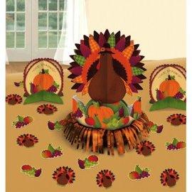 Thanksgiving Fringe Table Decorating Kit
