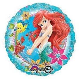 """Ariel Under the Sea Balloon, 18"""" (#119)"""