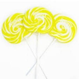 Swirly Pop 12ct.-Yellow