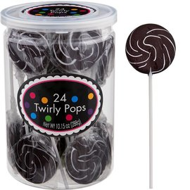 Swirly Pops 24ct.-Black